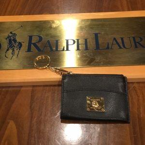 Polo Ralph Lauren keychain wallet women's